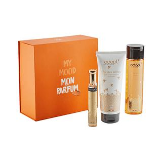 Caja eau de parfum 30ml + crema corporal + gel de ducha