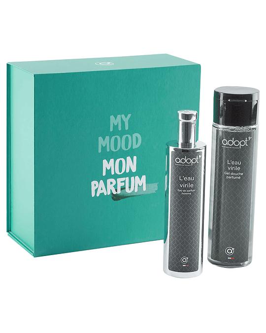 Caja eau de parfum 100ml + gel de ducha