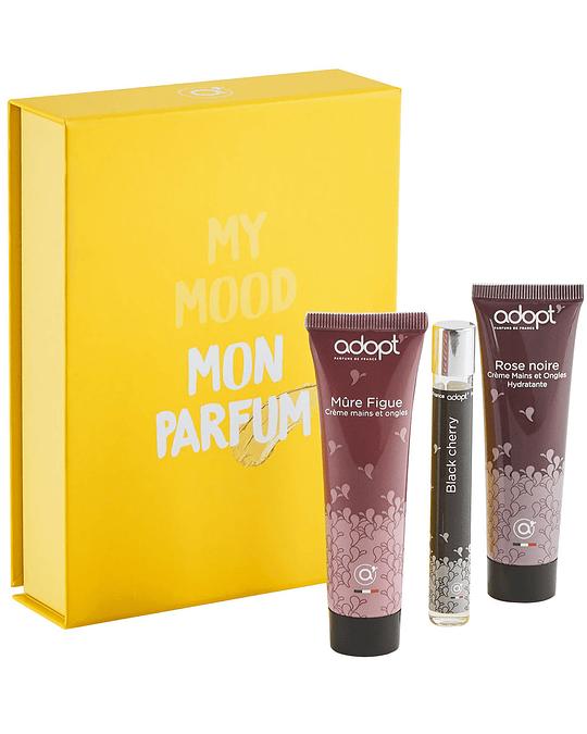 Caja crema de manos 30ml + eau de parfum roll-on 10ml