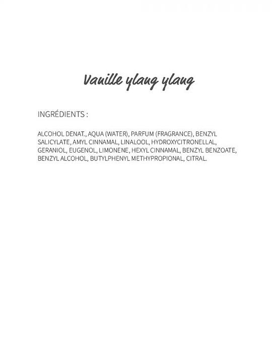Vanille Ylang-ylang (78) - eau de parfum 30ml