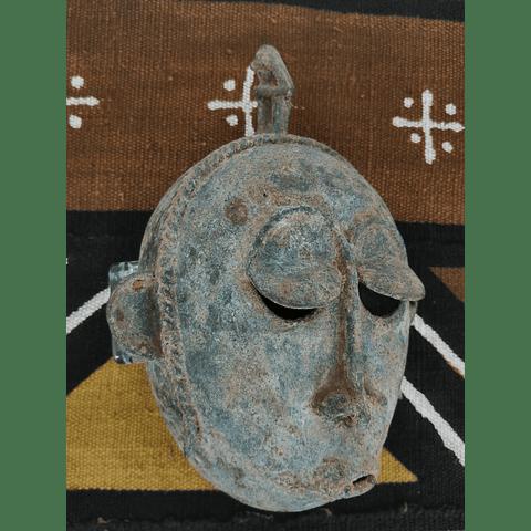 Máscara Senufo de Bronze