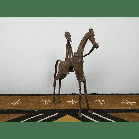 Cavaleiro Dogon em Ferro