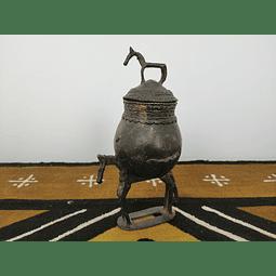 Funeral Dogon Bronze Pot