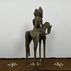 Cavaleiro Dogon de Bronze
