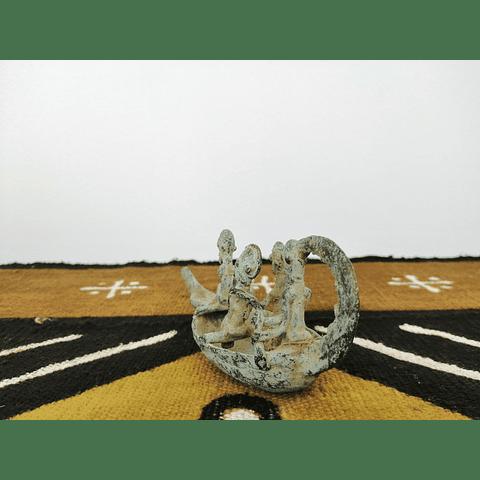 Bronze Dogon Boat