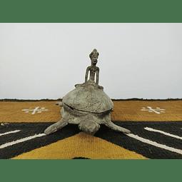Bronze Turtle Box