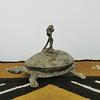 Caixa Tartaruga de Bronze