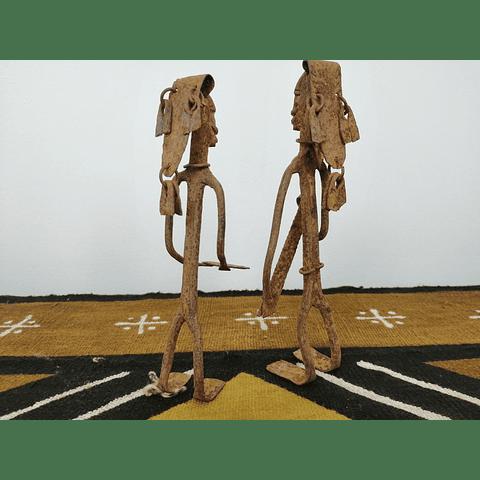 Wrought Iron Senufo Warriors