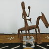 Dogon Knight in Wrought Iron