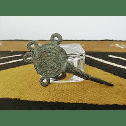 Agulha de Crochet Dogon em Bronze