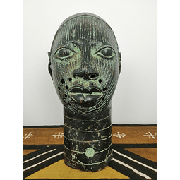 Bronze Ife Head