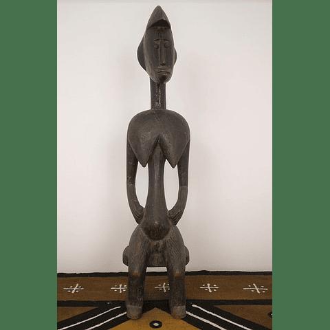 Estátua Feminina Sentada Bamana