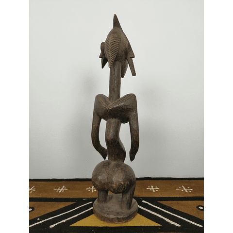 Wavy Bamana or Bambara Sculpture