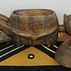 Carved Box with Nommo Dogon Figure