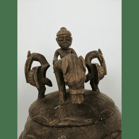 Dogon Funerary Pot