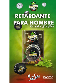 JAMAICAN CANABIS FOR MEN RETARDANTE CREMA 05GR