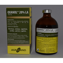 OXANOL 20% LA Solución Inyectable