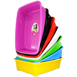 Bañera Gato Classic - Varios Colores  - Largo 46cm x Alto 11 cm x Ancho 36cm.