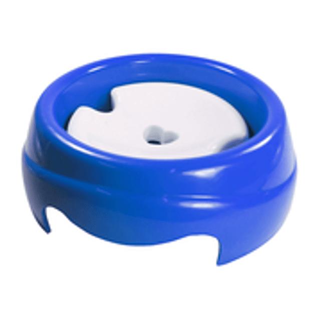 Bebedero Plast. Especial 1000ML - Pelo Largo (Azul)