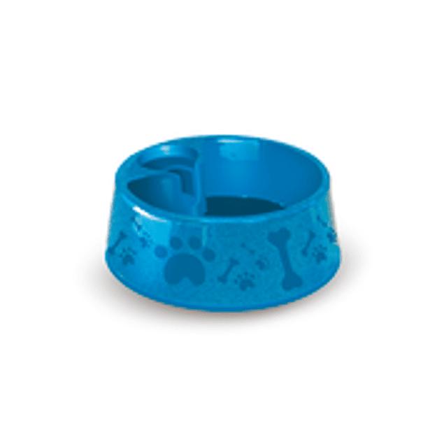 Bebedero Plast. Paris N2 - 700ML (Azul)