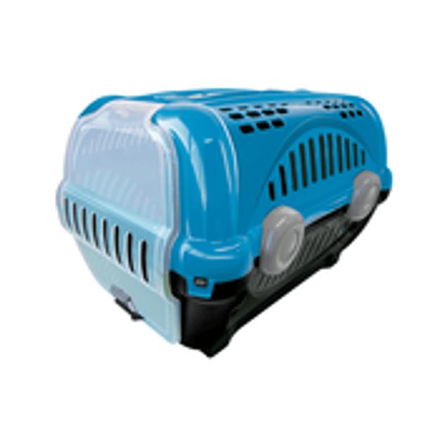 Caja de Transporte Lujo N1 - Azul