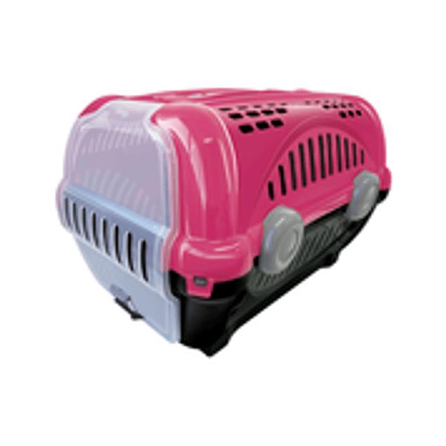 Caja de Transporte Lujo N1 - Rosa