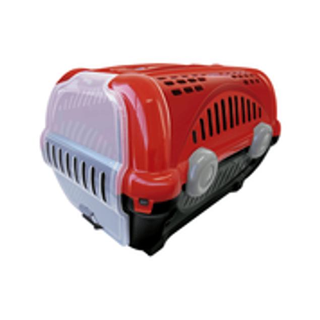 Caja de Transporte Lujo N3 - Rojo
