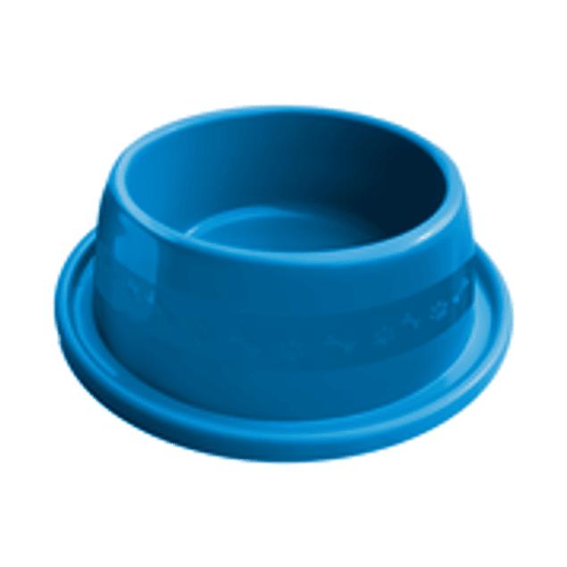 Comedero Plast. Anti-hormiga N1 Azul
