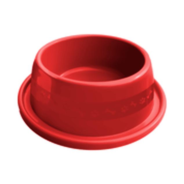 Comedero Plast. Anti-hormiga N1 Rojo