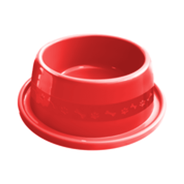 Comedero Plast. Anti-hormiga N2 Rojo