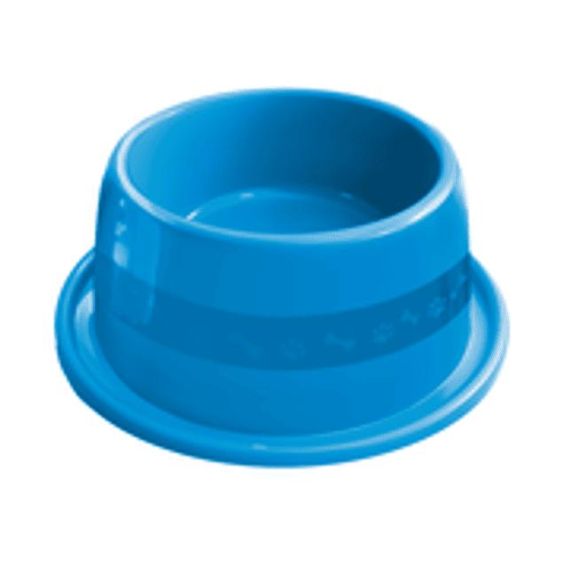 Comedero Plast. Anti-hormiga N3 Azul