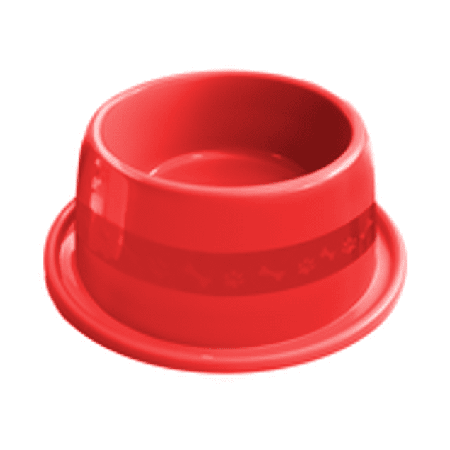 Comedero Plast. Anti-hormiga N3 Rojo