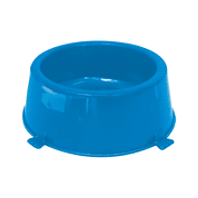 Comedero Plast. Classic N2 Azul