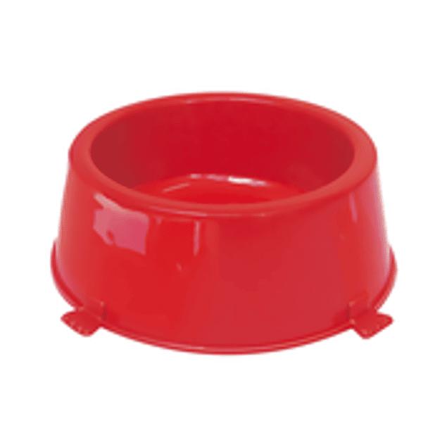 Comedero Plast. Classic N2 Rojo
