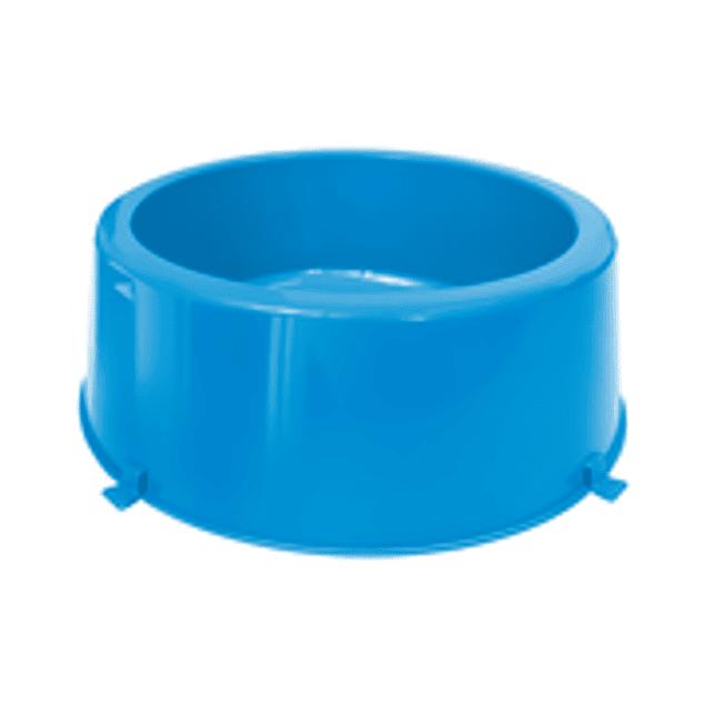 Comedero Plast. Classic N3 Azul