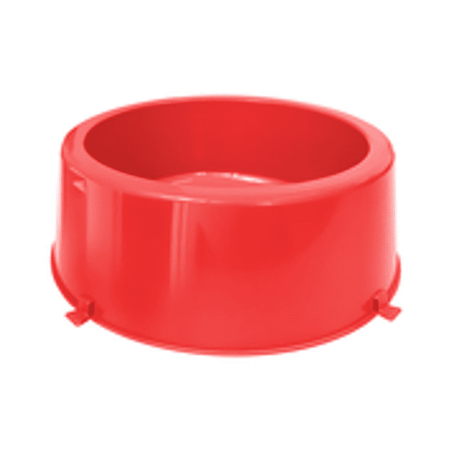 Comedero Plast. Classic N3 Rojo