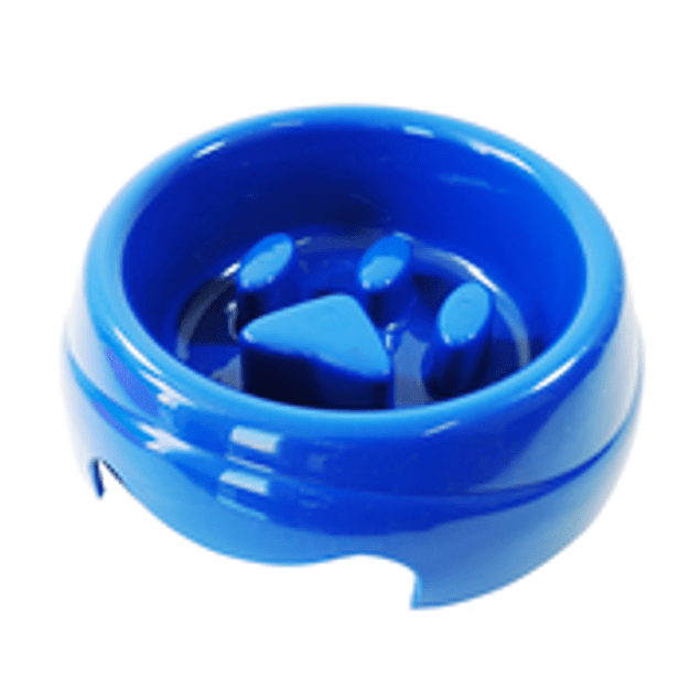 Comedero Plast. Coma Mejor Azul