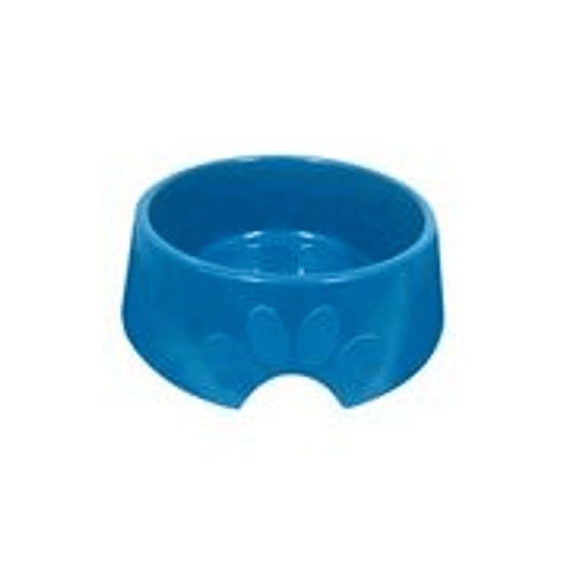 Comedero Plast. Pop N1 Azul