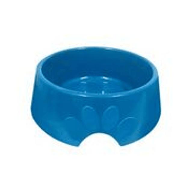 Comedero Plast. Pop N2 Azul