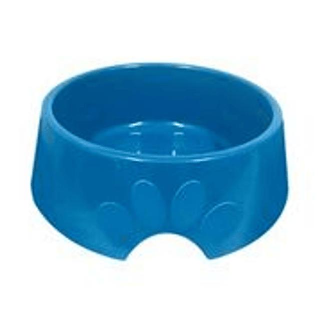 Comedero Plast. Pop N3 Azul