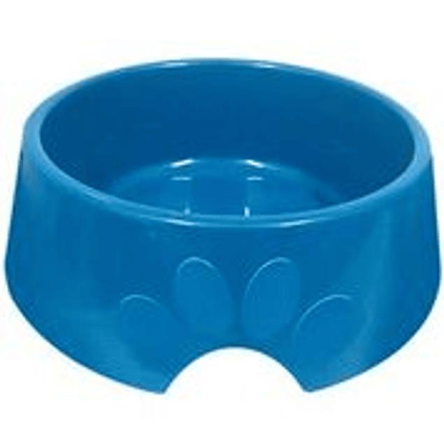 Comedero Plast. Pop N4 Azul