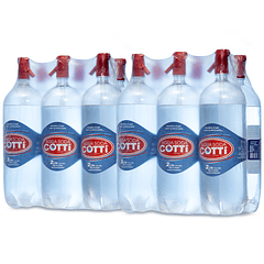 Pack 12 agua soda desechable