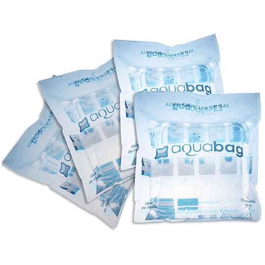 4 bolsas Aquabag desechables 10 Lts.