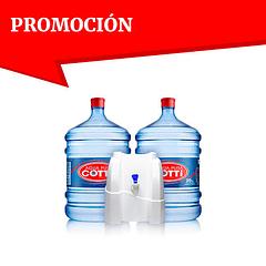 Dispensador natural con 2 botellones