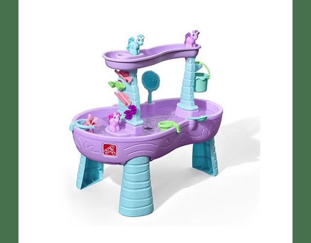 Mesa de agua unicornio