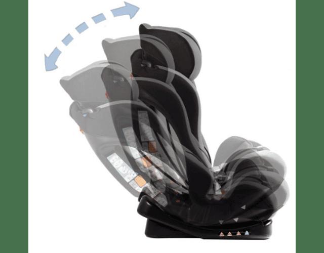 Silla de auto Bebesit Orbit 1029 Negra