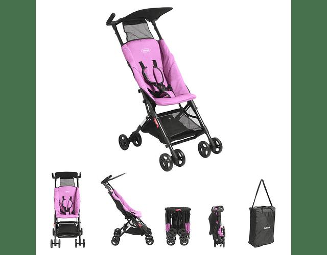 Coche de paseo nano púrpura