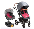 Coche travel system nexus 5053 bebesit burdeo