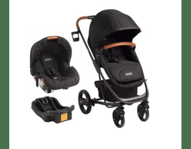 Coche travel system nexus 5053 bebesit negro