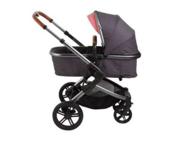 Coche travel system Asper Air bebesit rosa